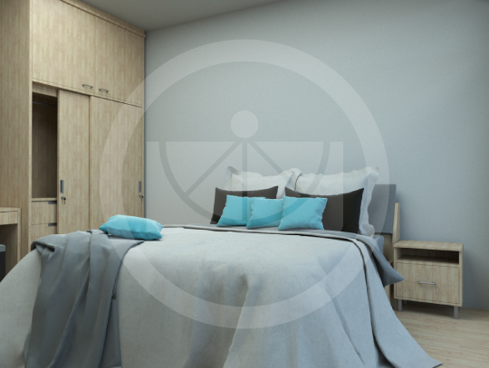 หอพักบุคลากรทางการแพทย์โรงพยาบาลสมเด็จศรีราชา